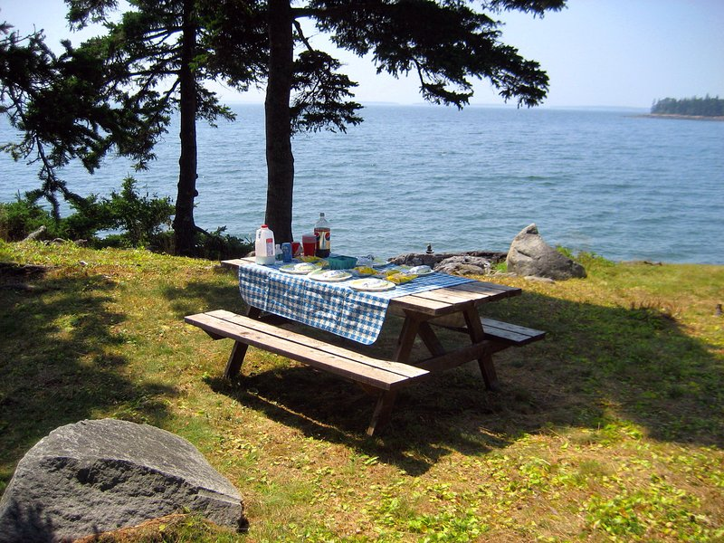 Enjoy a picnic overlooking the bay