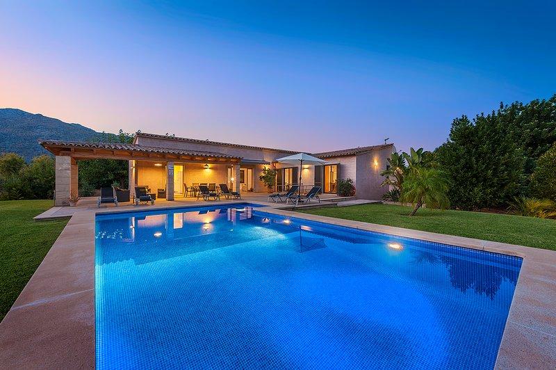 Villa La Sort, vacation rental in Pollenca