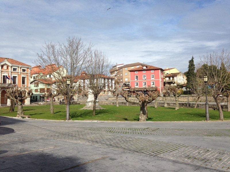 Plaza de Colombres