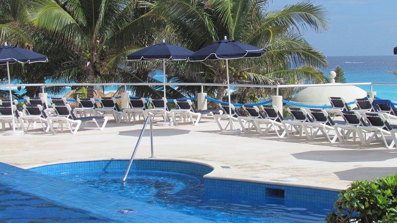 Ocean view swimming pool