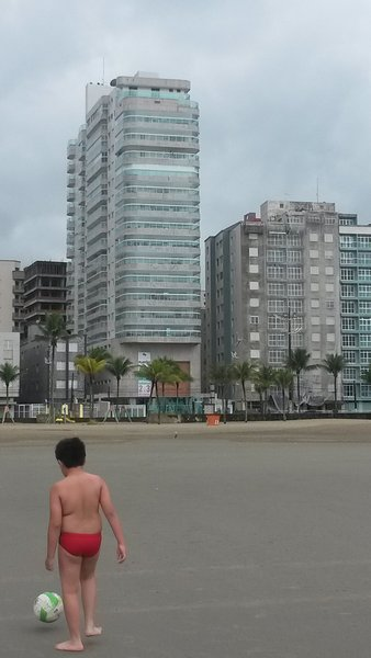 Apartamento na Orla da Praia, aluguéis de temporada em Praia Grande