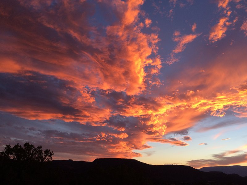 Bring your camera to capture the amazing sunsets at Sun Cliff. Yes, this was taken from the property
