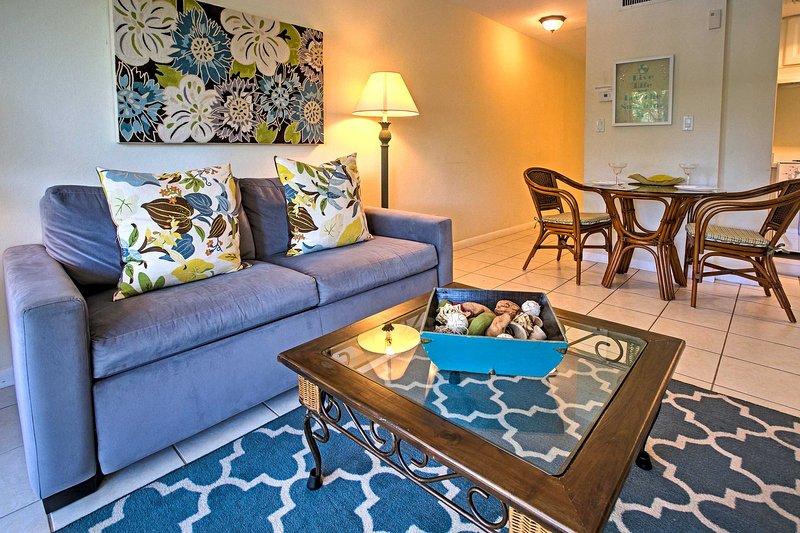 Diese gut ausgestattete Ferienwohnung bietet Platz für 4 Reisende.