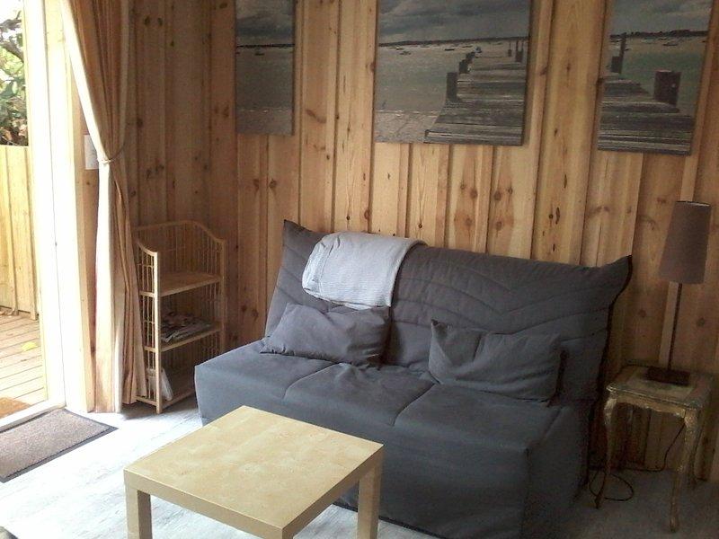 Les Cabanes de Cheyenne, location de vacances à Biscarrosse