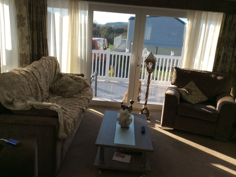 New Platinum Static Home, holiday rental in Brixham