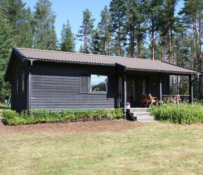 Swedish cottage in the forest close to lakes. Silence, space and clean, pure nature is this place!