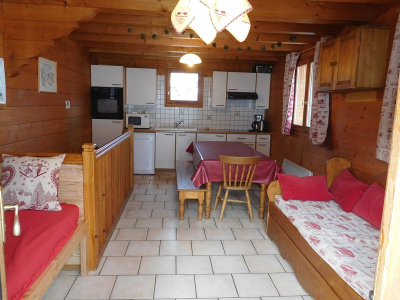 location appartement Les Orres Chalet Aconit,