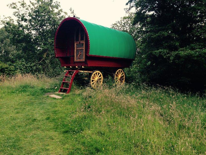 Wanderlusts Gypsy Caravan in Situ (Zingaro), vacation rental in Hawkshead