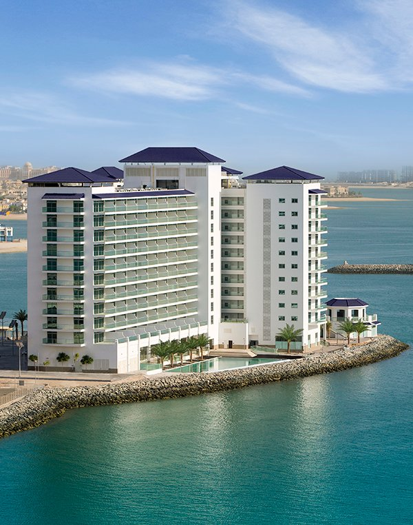 Luxuriöse Apartments mit 1 Schlafzimmer in Azure Residences, Palm Jumeirah