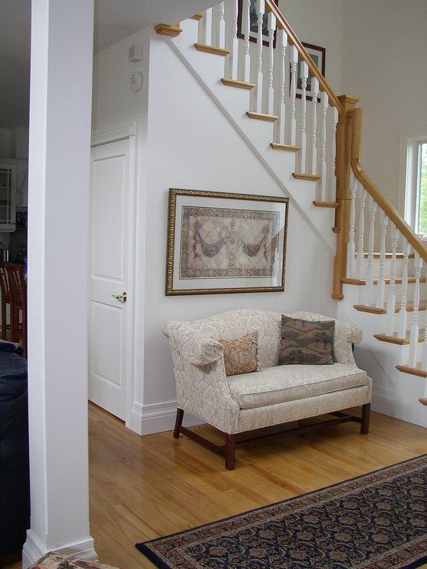 Way entrée, escaliers avant