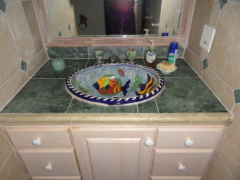 Bathroom Sink Bedroom 3.   Don't you just love it.