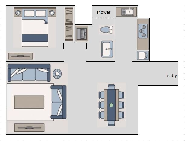 Floor lay out