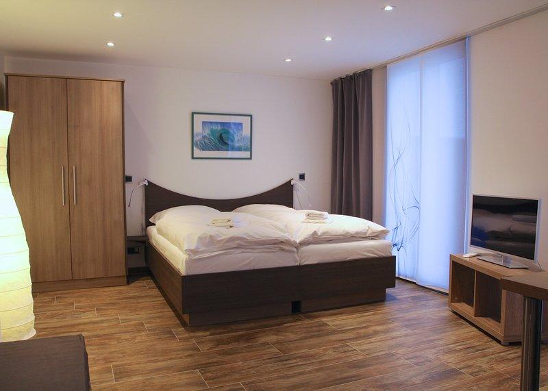 Living / sleeping area Apartment Bonn