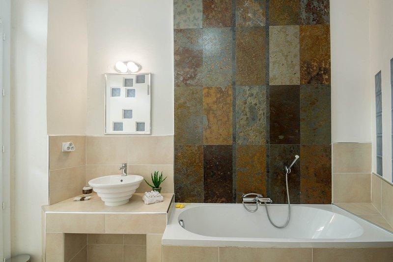 Stylishly designed bathroom
