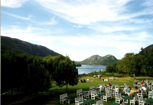 Jordan Pond House - A great place for popovers in Acadia National Park
