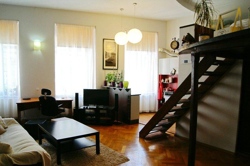 Stylish Studio Kronstadt, casa vacanza a Timisul de Jos