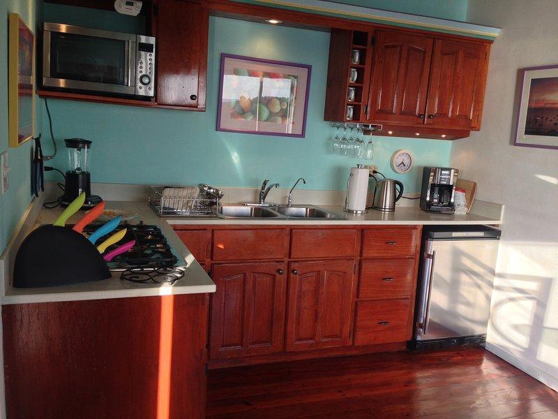 upper villa kitchen