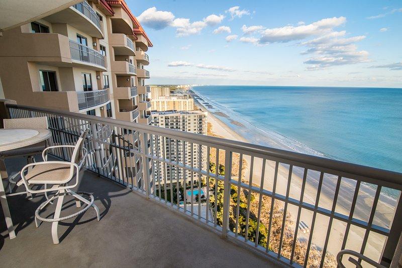 Oceanfront Balcony w Unobstructed View