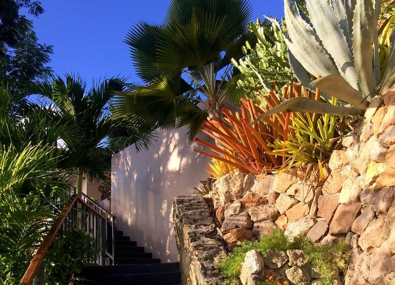 steps to villas