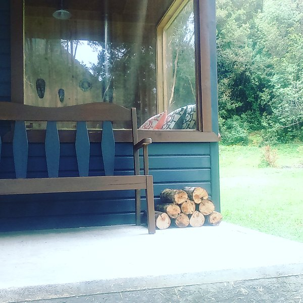 Terrasse Hütte