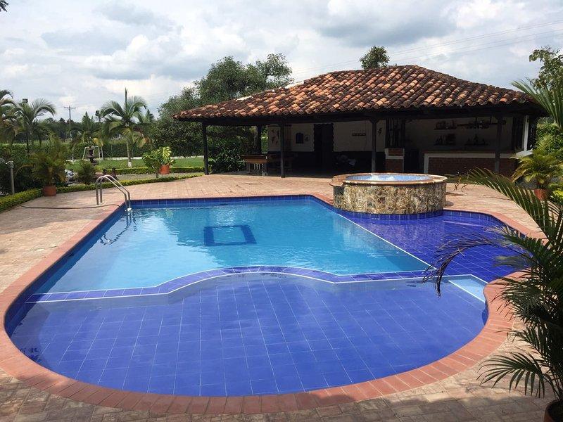 FINCA HOTEL SAN GABRIEL, holiday rental in Pueblo Tapao