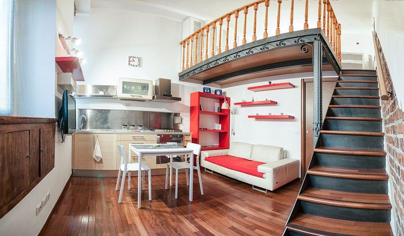 MINILOFT-ANGY-NAVIGLI, holiday rental in Milan