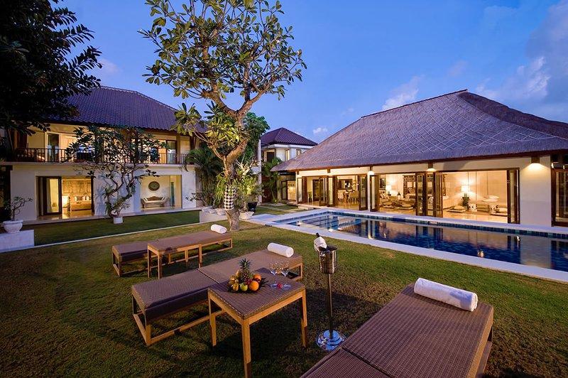 une belle villa de 4 chambres à Seminyak placé sur un bloc de 1200m2.