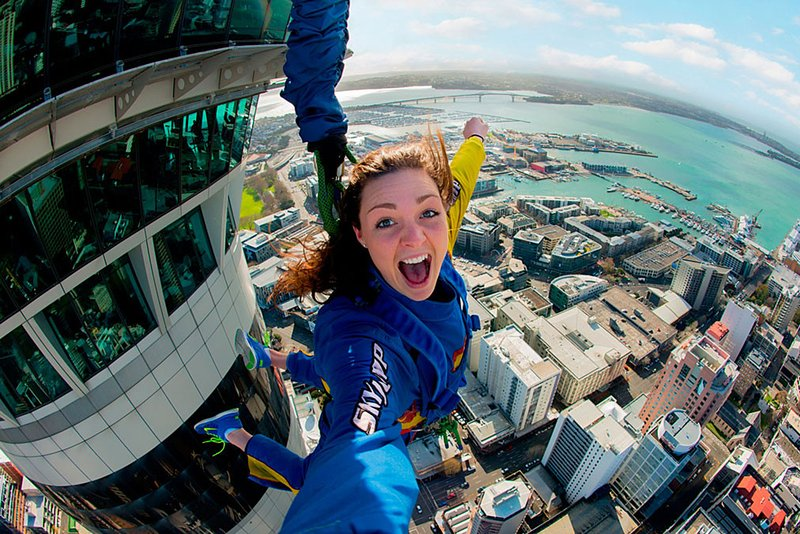 'Tower Jump' off SkyTower for NZ$225.