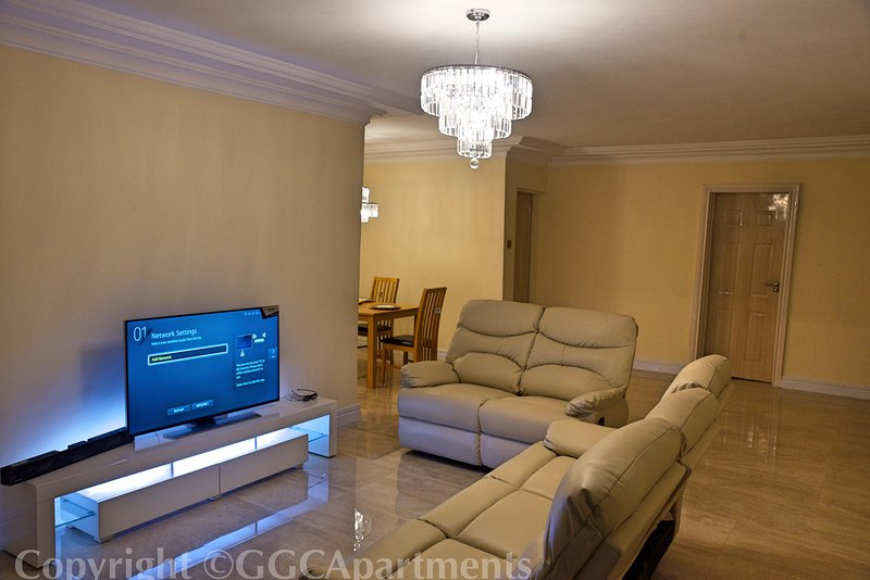 GGC Luxury Serviced Apartment - Gold, vacation rental in Lagos State