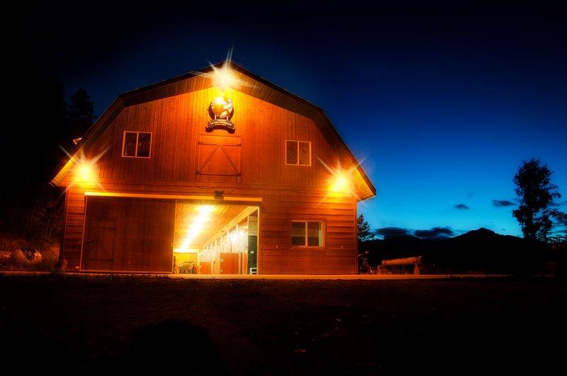 Mejor granero acogedor en Columbia Británica hermosa!