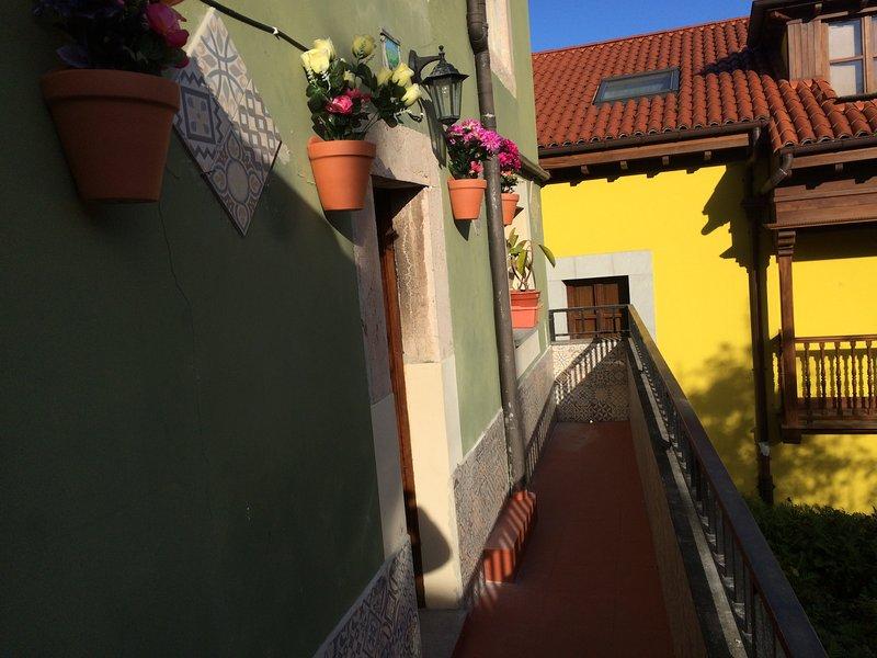 Apartamento en Llanes 250 m de la playa, casa vacanza a Cue