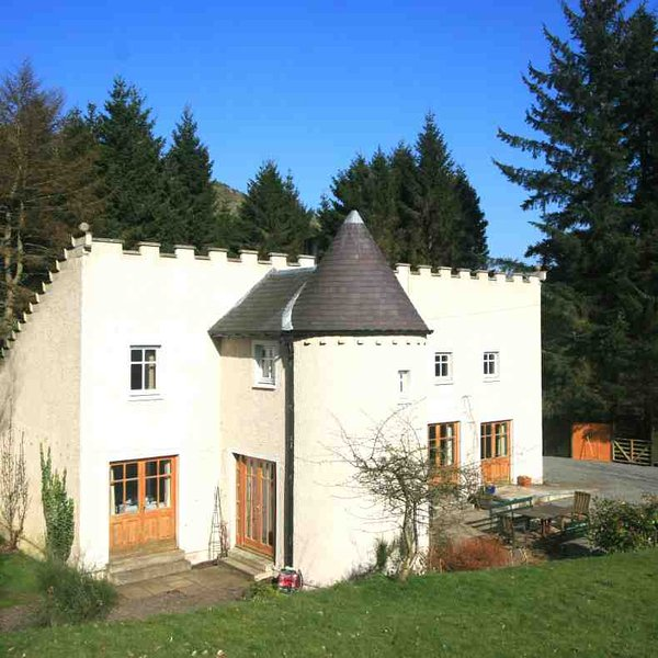 This quirky holiday house is a great base in Perthshire
