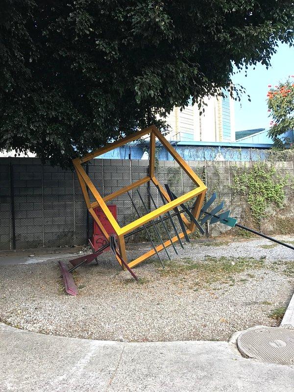Arte en las calles cercanas