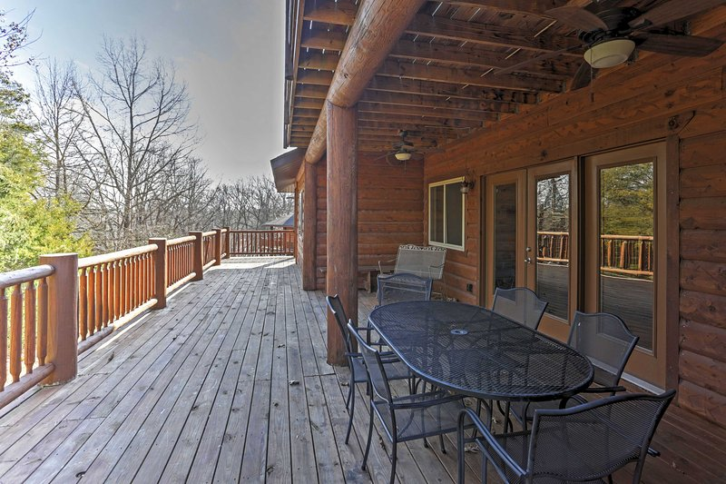 The spacious decks will be your favorite place to hang out in the fresh air.