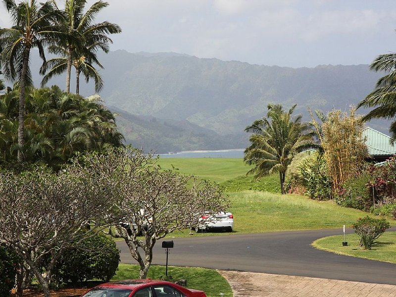 Mountain/ Golf Course View from the front lanai