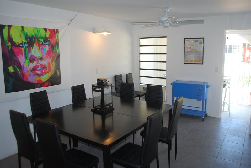 Dining and business room