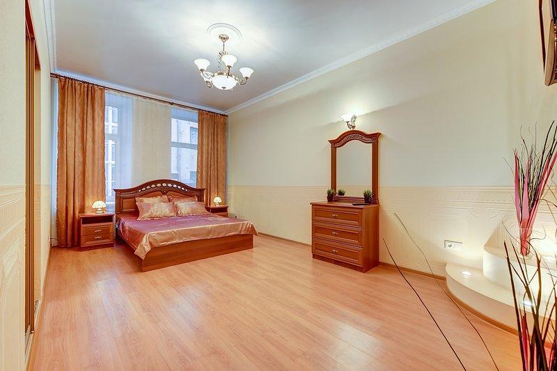 ¡Queridos amigos! Apartamentos de lujo se encuentran en la ciudad de San Petersburgo.