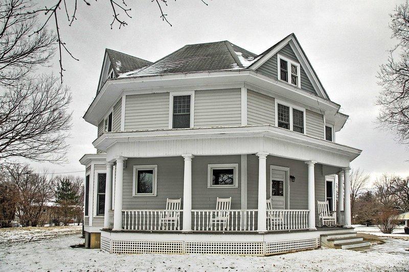 Planifiez votre prochaine escapade à cette location historique Jefferson 3 chambres maison de vacances!