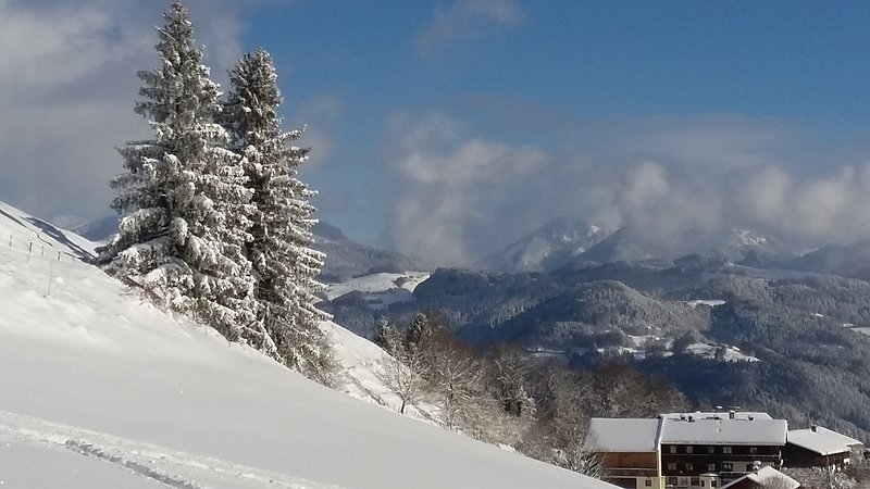 Oberaudorf / Hocheck - tip; Ski resort not overcrowded