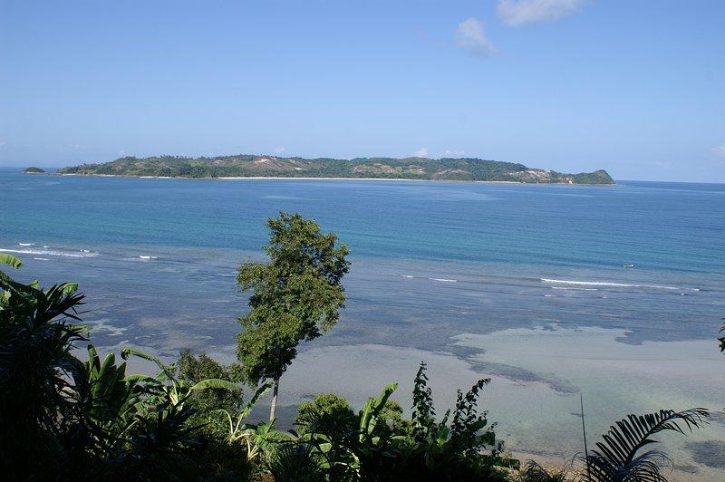 Impresionantes vistas sobre las islas situadas alrededor de la villa. Un pequeño rincón del paraíso ...