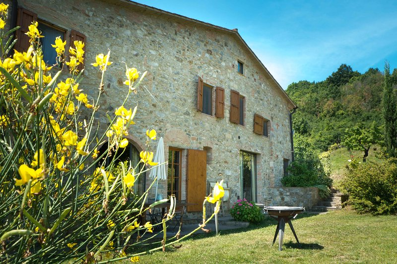 Self-catering apartment with garden | pool, holiday rental in Collemontanino