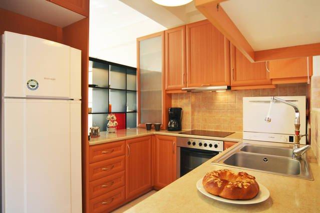 Küchenbereich, Appartment Electra