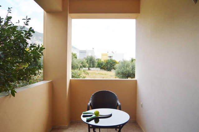 Zweites Schlafzimmer der Terrasse, Appartment Electra