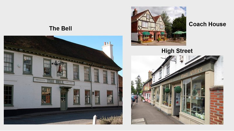 El Coach House, The Bell & the High St