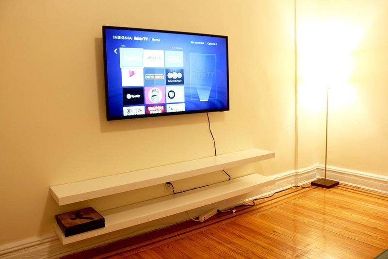 Smart TV med Netflix, Hulu och andra kanaler