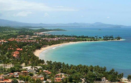 Arial Ansicht von Palmas del Mar Resort.