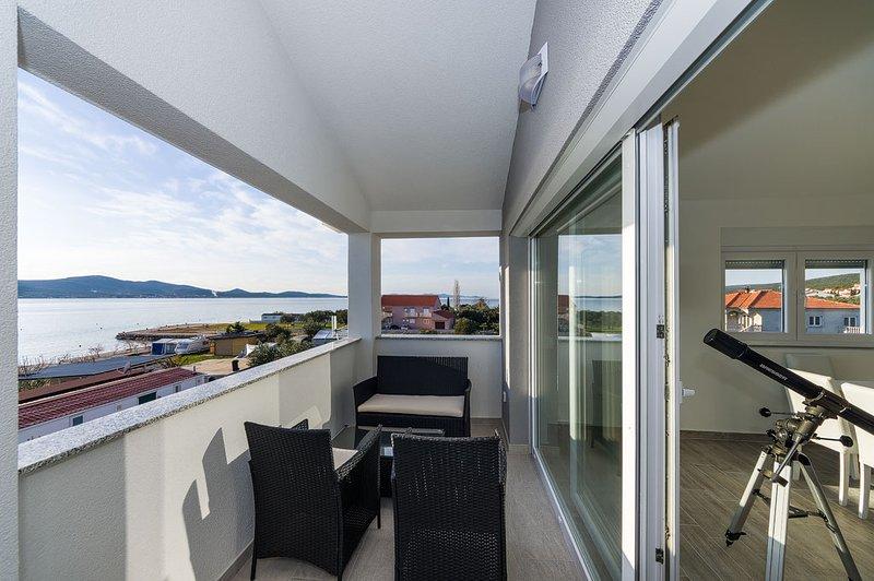 Modern apartment on the beach