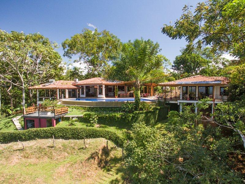 Sea Breeze Main House, Pool, and Villa.