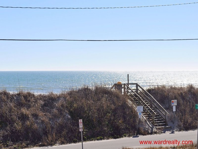 South Ocean View from 1st Floor Covered Deck