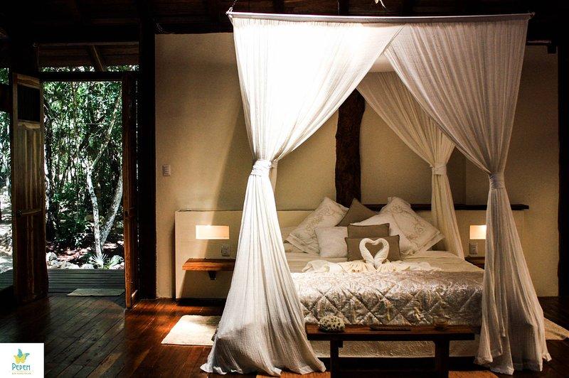 Cabaña Selva de Tulum, alquiler de vacaciones en Macario Gómez